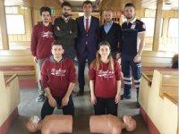 Eminönü-Kadıköy vapur hattında ilk yardım etkinliği düzenlendi