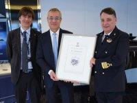 MSC Cruises, cruise sektöründe kalite, sağlık, güvenlik ve çevresel yönetim konularında prestijli ödülü aldı