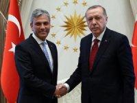 TÜRSAB Başkanı ve Yönetim Kurulu Cumhurbaşkanı Erdoğan'ı Ziyaret Etti