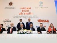 Seyahat acentalarına,Türk Eximbank Kaynaklı Destek Kredisi Protokolü imzalandı