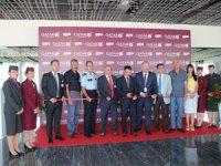 Bodrum, Qatar Airways'in Türkiye'ye açılan altıncı noktası oldu sırada Antalya var