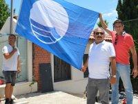 Antalya Konserve Koyunda bulunan Bilem Beach'de Mavi Bayrak dalgalanacak