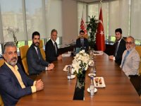 İstanbul Valisi Vasip Şahin TÜRSAB Yönetimi ile seyahat acentalarının yaşadığı sorunları görüştü