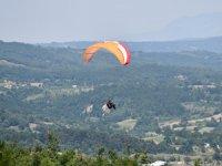 Türkiye'nin Doğa Sporları ve Turizm Merkezi, Türkiye Yamaç Paraşütü Hedef Yarışması'na ev sahipliği yaptı