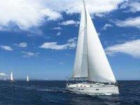 """""""8. Ege Yat Rallisi""""ndeki 30 teknenin katılımcıları Bodrum'dan demir aldı"""