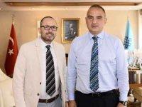 Gastronomi Turizmi Derneği Başkanı Gürkan Boztepe, Kültür ve Turizm Bakanı Mehmet Ersoy'dan tam destek aldı