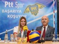 PTT Spor Kulübü, 7 Ekim'den itibaren güçlü oyuncu ve antrenör kadrosuyla başarıdan başarıya koşmayı hedefliyor