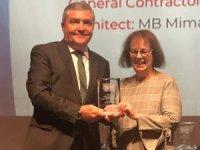 """İpek Yolu'nun kalbine inşaa edilen Uluslararası Türkmenbaşı Limanı, New York'ta """"ENR Best Project Ödülü"""" kazandı"""