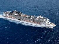 MSC Cruises'ın yeni amiral gemisi MSC Grandiosa'nın ilk seferi için rezervasyonlar başladı