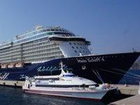 Bodrum Kruvaziyer Limanı'na bir günde 2.900 turist geldi