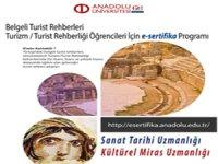 Turist Rehberliğinde Uzmanlık Eğitimi e-Sertifika Programlarının Kayıtları Sürüyor