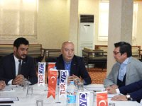Turizm Otel Yöneticileri Derneği (TUROYD) Doğu Anadolu Byk Toplantısı Elaziğ'da Yapıldı