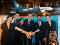 Umman Sultanlığı'nın Milli Hava Yolu Oman Air, yatırım yaparak Türkiye ofisini hizmete açtı