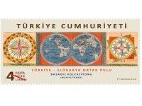 """Türkiye ile Slovakya arasında iki ülke posta idareleri """"Türkiye - Slovakya Ortak Pulu"""" konulu anma pulu hazırlandı"""