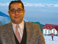 Erzurum'da kar yağışı ile şehir kış turizmi sezonunu açmış oldu