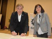 Kastamonu Sanayici ve İşadamları Derneği (KASİAD) ve Türk Ekonomi Bankası (TEB) arasında işbirliği protokolü imzaladı