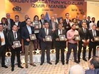 Ege Maden İhracatçıları Birliği'nin sektör toplantısı ve maden ihracatının yıldızları ödül töreni Çeşme Boyalık Beach Oteli'nde gerçekleştirildi
