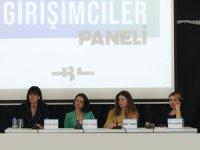 Kadın girişimciler BİLGİ'li öğrencilerle buluştu