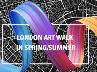 London Art-Walk ile keyifli, heyecanlı ve merak uyandırıcı bir sanat turu