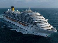 Costa Cruises'un Çin pazarı için tasarladığı yeni gemisi Costa Venezia; törenle suya indirildi