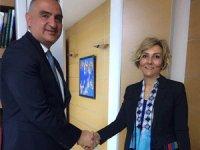 TÜROB Yönetim Kurulu, Bakan Mehmet Ersoy'u İstanbul'daki makamında ziyaret etti