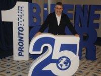 25.yılını kutlayan Pronto Tour gala yemeğinde teşekkür plaketleri verdi