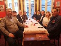 Celal Toprak, Ekonomi Gazetecileri Derneği'nin başkanı seçilirken yönetim kuruluda oluşturuldu