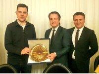 Mustafa Esgin, Gaziantep ve Bursalı turizmcilerle buluştu