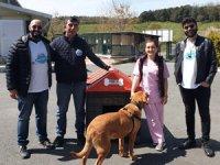 Girişimciler ve öğrenciler, İstanbul Sarıyer'de bulunan Kısırkaya Plajı'nda bir araya geldi
