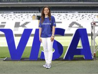 Team Visa'ya Katılan İlk Türk Kadın Futbolcu Didem Karagençoldu