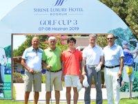 3. Sirene Luxury Hotel Bodrum Golf Turnuvasının kazananlarına özel bir davetle ödülleri verildi