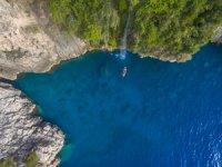 Faralya denizden 440 metre yükseklikteki bu doğa harikası