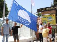 Konserve Koyu'nda bulunan Bilem Beach'de Mavi Bayrak 2019 yılında da dalgalanacak