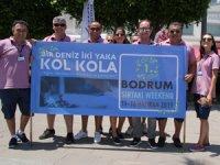 """""""Bir deniz iki yaka kol kola"""" Sirtaki Festivali Muğla'nın Bodrum ilçesinde düzenlendi"""