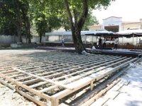 Topkapı Sarayı'ndaki Karakol Restaurant'ta ani bir büyütme çalışması