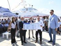 İDO'nun Büyükçekmece-Bursa deniz otobüsü hattıbugün ilk sefer ile başladı