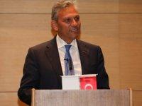 TÜRSAB Yönetim Kurulu Başkanı Firuz Bağlıkaya İzmir'deki Seyahat Acentalarıyla Buluştu