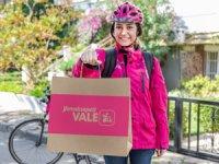 """Yemeksepeti """"Vale Bisikletli Kurye"""" projesini hayata geçti"""