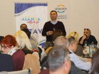 """Adem Murat Yücel, """"Alanya'da yaşayan 82 milletten 31 bin 500 insanımız bizim en büyük zenginliğimiz"""