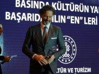 Doğa sporcusu Orkun Olgar'un hazırladığı program 'Macerasever'e ödül
