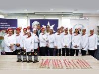 Gelecek Atölyeleri'nde eğitim gören kız öğrenciler 'Geleceğin Şefleri' yarışmasında buluştu