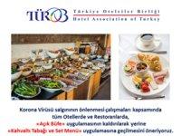 TÜROB'dan açık büfe yerine kahvaltı tabağı/set menü önerisi