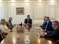 İBB Başkanı Ekrem İmamoğlu Turizm Plartformu Temsilcileriyle bir araya geldi