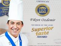 Chef Fikret Özdemir, Uluslararası Üstün Lezzet Ödülü'ne gidiyor