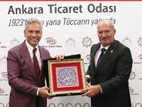 TÜRSAB Heyetinden Ankara Ticaret Odası'na Teşekkür Ziyareti