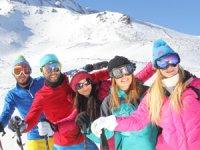 Erciyes Kayak Turizmine Büyük İlgi