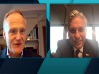 TÜRSAB Başkanı Firuz Bağlıkaya, Frank Oostdam ile online toplantı yaptı