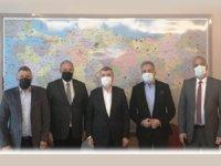 TBMM Turizm Komisyonu Başkanı Tahir Akyürek'i ziyaret ettik