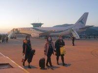 Gazipaşa-Alanya Tailwind'in ilk Tahran uçuşunu karşıladı