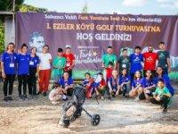 Denizli'nin Eziler köyünde Golf Turnuvası düzenlendi